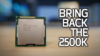 Intel Needs Another 2500K