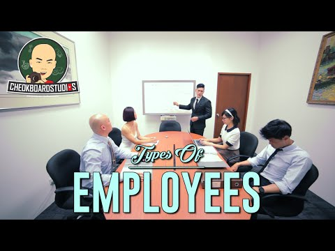 Types Of Employees At Work In Singapore