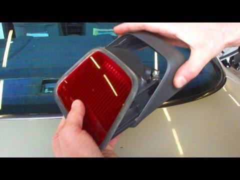 Дополнительный стоп сигнал Mercedes W210 Additional brake light