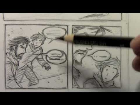 How to Make Rough Layouts for Comics/Manga
