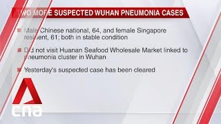 Wuhan pneumonia: 2 more suspected cases in Singapore