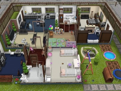 The Sims FreePlay- Player Designed House