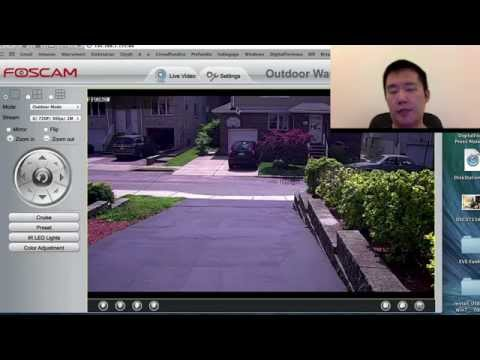 Foscam FI9828W Outdoor Wireless IP Camera Demo & Review