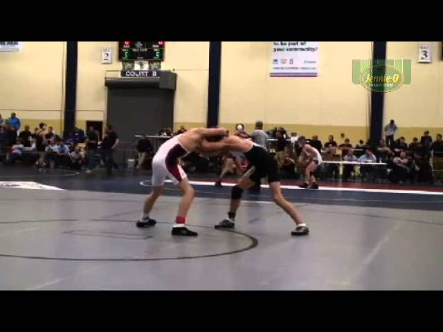 126 LBS - 3rd - Griffin Parriott (New Prague) vs. Zach Siegle (Scott West)