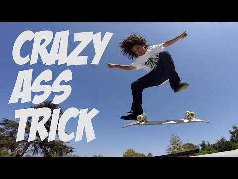 SKATER DOES IMPOSSIBLE TRICK ??? WACSON MASS