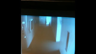 Ghost caught on church infared security camera
