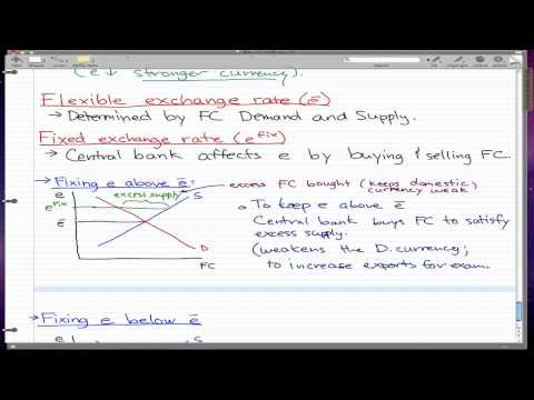 Macroeconomics - 83: Flexible Exchange Rate