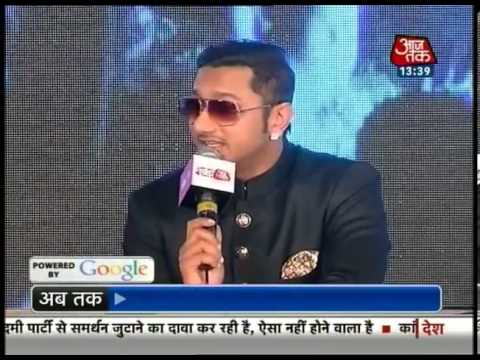 Agenda Aaj Tak: Yo Yo Honey Singh video