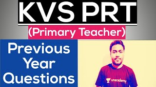 KVS PRT (Primary Teacher) Exam 2020..Previous Year Questions