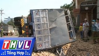 THVL   Người đưa tin 24G: Lật xe tải chở khoai mì, 2 người tử vong tại Bình Phước