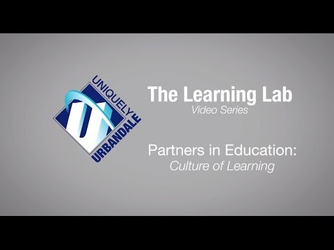The Learning Lab Video Series: Partners in Education--Culture of Learning - 07/07/2014