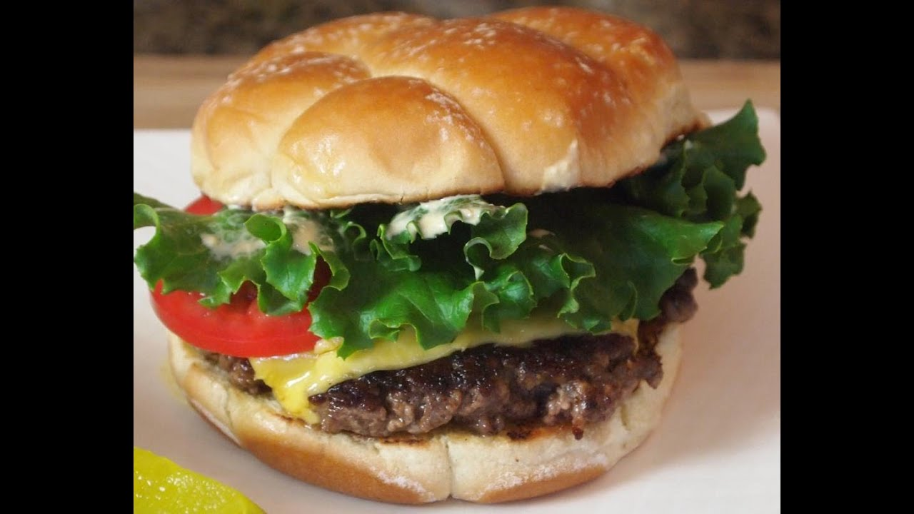 how to cook homemade burgers