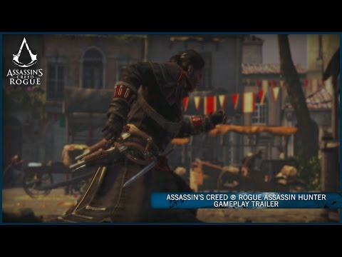 Assassin's Creed Rogue | Assassin Hunter Gameplay Trailer [UK]