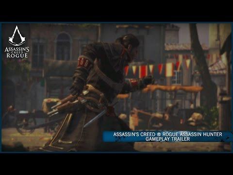 Assassin's Creed Rogue   Assassin Hunter Gameplay Trailer [UK]