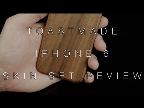Toastmade iPhone 6 Wood Skin Set Review