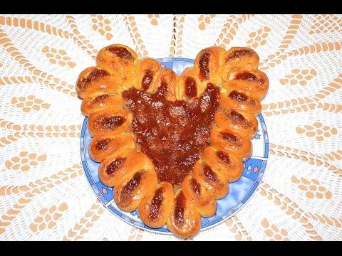 Пирог Сердце на Валентинов день