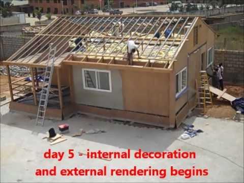 ghana home build in 15 days   V2