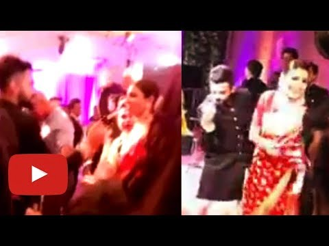 Anushka Sharma Virat Kohli Lovely Dance At Delhi Reception