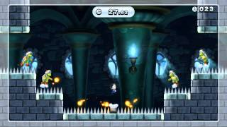 Seriously! Fire, Bro! Gold Medal - New Super Mario Bros. U (50 Seconds)