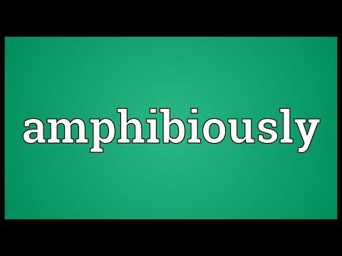 Header of amphibiously