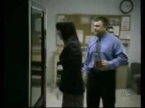 Banned Tv Commercial...  Cheering Works.  The Office Secretary Attacks A Vending Machine. video