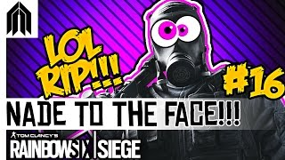 Rainbow Six: Siege Funny Moments! - Nades to the Face, Ash Round Kill, Nade Trolling & Team Killers!