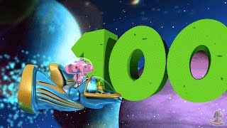 One to Hundred Numbers Song | Big Numbers Song | Educational Song for Kids by Little Treehouse