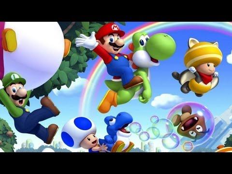 CGRundertow NEW SUPER MARIO BROS. U for Nintendo WII U Video Game Review