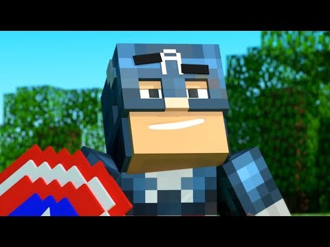 Superheroes Life in Minecraft