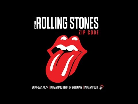 Announcing The Rolling Stones At The Indianapolis Motor Speedway - July 4, 2015