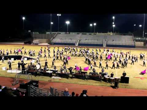 RCC Marching Tigers @ Cathedral City High School (2012)