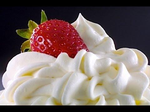 Como hacer Crema Chantilly o Whipped Cream