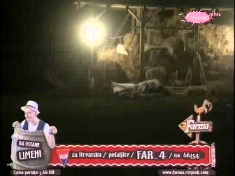 Farma Srbija 3 / 23.09 Vatanje u senu Bane i Katarina!