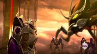 Disturbed-Monster Transformers Prime Beast Hunter Predaking