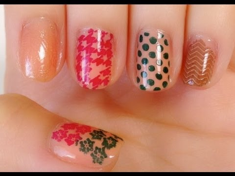 Review & Demonstration: Nail art stamping plate from Born Pretty Store - Natalie's Creations
