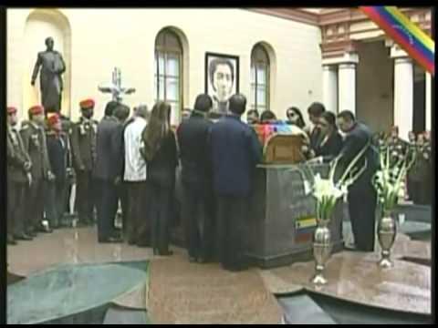 Sepelio del Comandante Presidente Hugo Chávez Frías