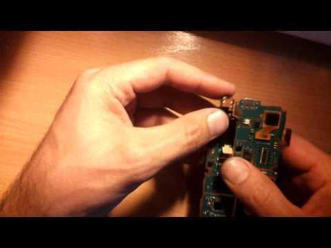Desmontar y montar galaxy ace Android (GT-S5830)