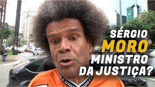 O QUE AS PESSOAS ACHAM DE SÉRGIO MORO COMO MINISTRO DA JUSTIÇA DO GOVERNO BOLSONARO?