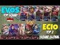 EVOS(TOP SQUAD INDO) VS ECIO(TOP 2 SQUAD DUNIA), Musuh DIB4NT4I Dan Akhirnya Menyerah MP3