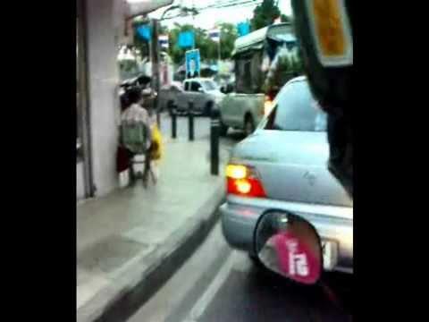 Bangkok taxi scooter tour 2010