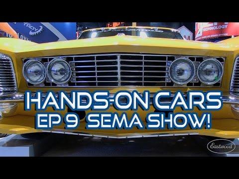 SEMA 2014 Riviera Ridler Winner, '62 Vette, James Hetfield's Black Pearl on Hands-On Cars 9