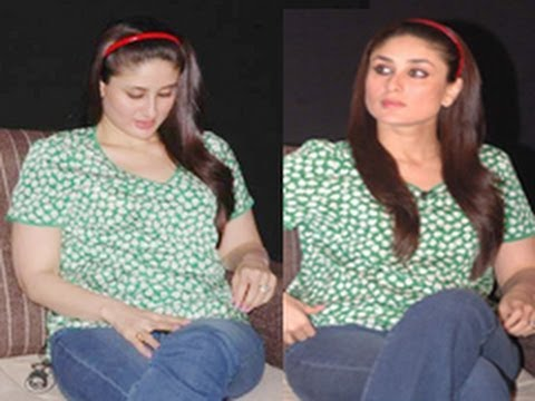 Kareena Kapoor Shows Her Fat! video