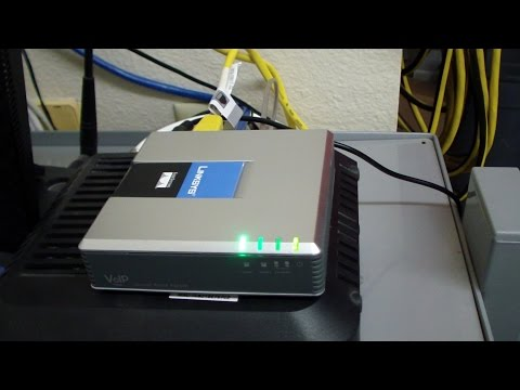 Linksys PAP2T-NA VoIP Phone Adapter Instructions