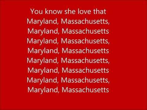 Nelly - Maryland, Massachusetts (Lyrics)