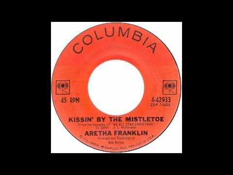 "Aretha Franklin – ""Kissin' By The Mistletoe"" Columbia 1963"