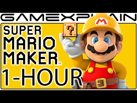 Download 1-Hour Of Super Mario Maker Gameplay (Livestream Archive ...