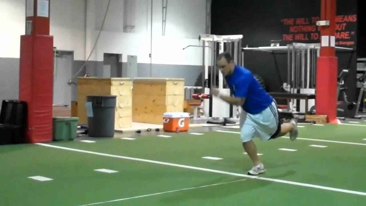 Single Leg Hop Testing - YouTube