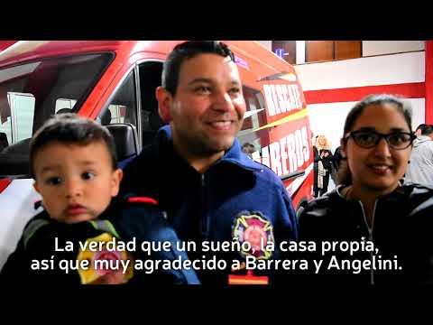 Pre-adjudicamos 13 lotes para los bomberos