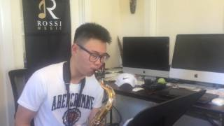 Jazz Sax Improvisation Student after 6 lessons DEMO - Los Angeles
