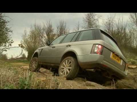 New Range Rover 2010 Action Driving